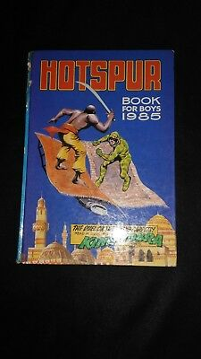 Hotspur Book For Boys 1985 Vintage Action/Adventure Annual