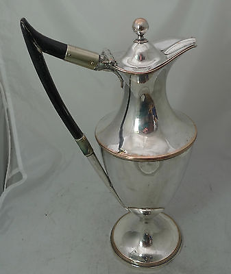 Georgian Old Sheffield Plated Wine / Water Jug 31cm My ref A622617