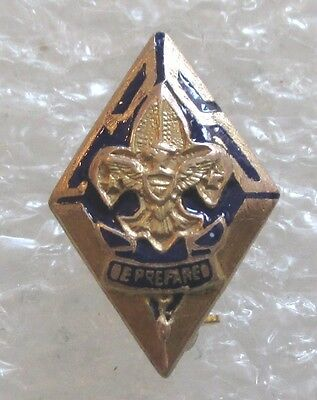 Vintage Boy Scouts of America Be Prepared Boy Scout Pin BSA Gold-Filled