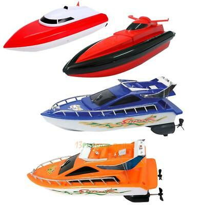 Kids Remote Control RC Super Mini Speed Boat High Performance Boat Toy Bauble