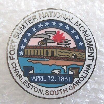 Fort Sumter National Monument-Charleston, SC Souvenir Collector Pin
