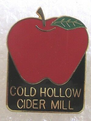 Cold Hollow Cider Mill - Waterbury Center, Vermont Souvenir Collector Pin