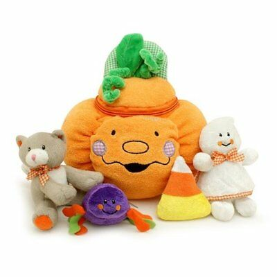 My First Pumpkin Play Halloween Gifts Developmental Toy Set for Baby Toddlers