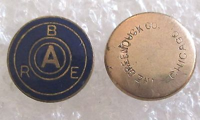 Vintage Benefit Association of Railway Employees BARE Insurance Company Pin