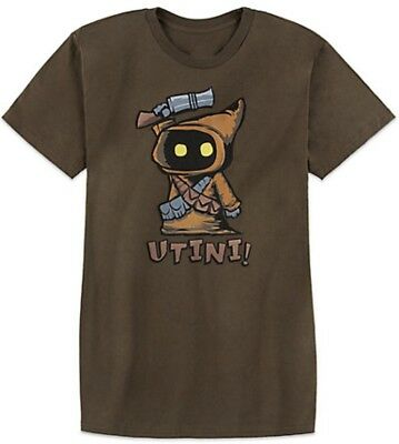Disney Parks Star Wars Jawa Utini  T-Shirt Brand New With Tags Large