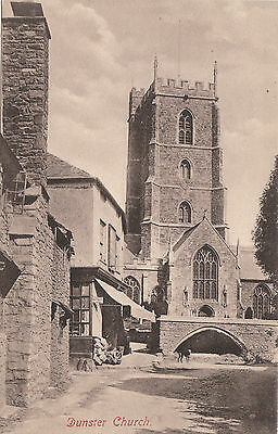 The Church & Shop, DUNSTER, Somerset