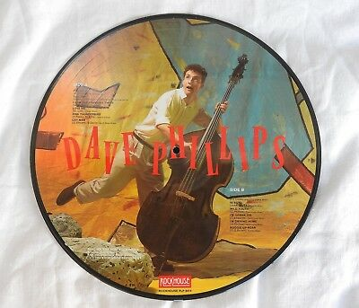 Picture LP - Dave Phillips - Rockhouse PLP 8414