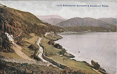 Estuary & Dolgelly Road, BARMOUTH, Merionethshire