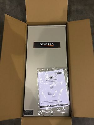 NEW Generac RXSW200A3  200-Amp Automatic Transfer Switch **REPLACED RTSW200A3**