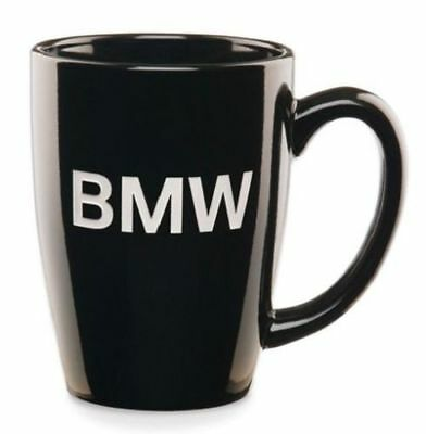 BMW Coffee Mug Genuine Classic Engraved BMW Lettering Never Used