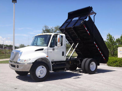 2003 International 4200 VT365 12ft Dump Truck 6.0L Diesel 1 Owner FL Fleet Truck