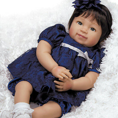 Realistic Handmade Baby Doll Girl Toddler Lifelike Vinyl Weighted Alive Reborn