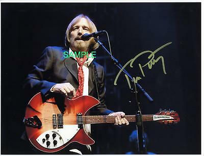 Tom Petty Reprint 8X10 Autographed Signed Photo Picture Collectible Rp