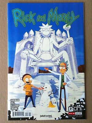 Rick & Morty #8 George Bletsis Incentive Variant Cover Oni Nm 1St Printing 2015
