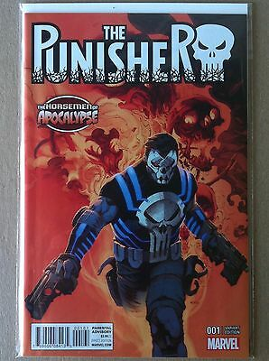 "Punisher (2016) #1 ""horsemen Of Apocalypse"" Variant Cover Nm 1St Printing Age"