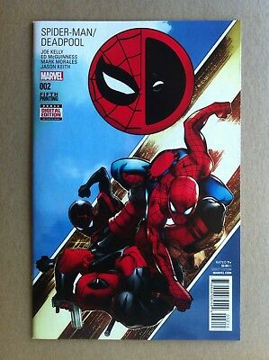SPIDER-MAN DEADPOOL #2 5th PRINTING VARIANT COVER ED McGUINNESS JOE KELLY VF/NM