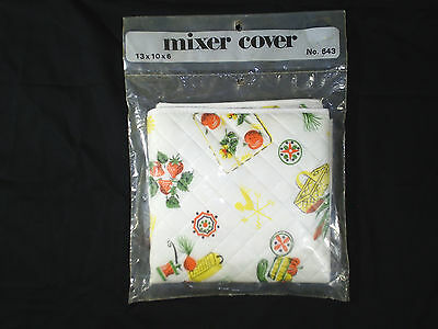 Vintage Mixer Cover Quilted 60's to 70's New Old Stock