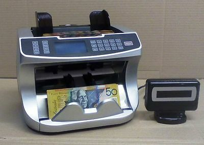 Money Counting Machine Aus900C - Bank Qlty 3 Speed  Cash Counter Comm Qlty