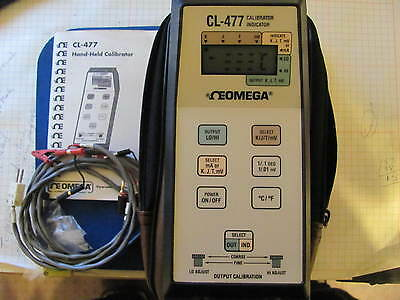 Omega CL-477 hand-heldCalibrator Thermometer