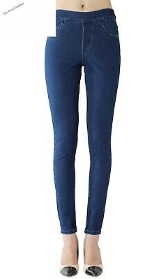 Isolde - Skinny Jegging Super Stretch Knit Denim with Fully Functional...