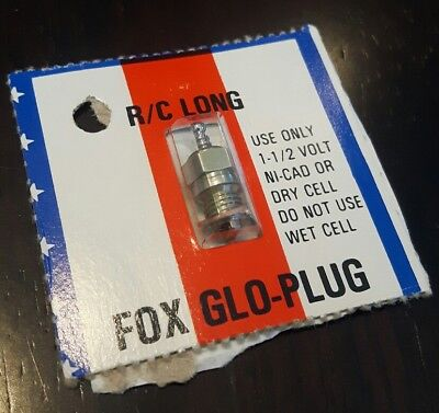 Fox Glo-Plug RC R/C long glow plug, engine