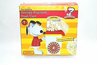 Smart Planet Peanuts Snoopy Popcorn Cart Air Popper Red PNP1
