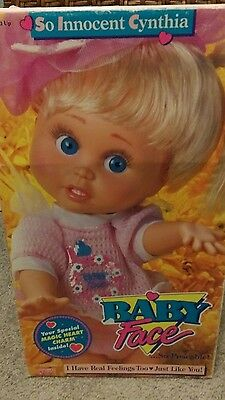 So innocent Cynthia baby face doll