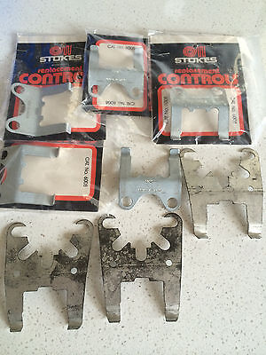 Electric HW Thermostat Brackets - 8 in total Stokes brand suit Robertshaw thermo