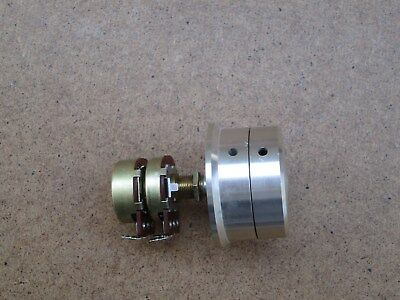 Potentiometer 20k + 20k Ohm Zweifach 39-Gang