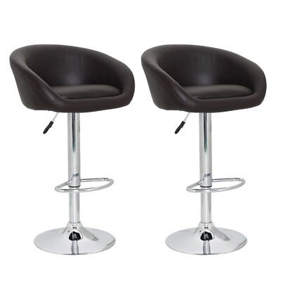 vidaXL 2 x DESIGN Barhocker Bar Stuhl Hocker LOUNGE Sessel Küche Barstühle 66