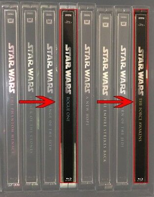 Spine Magnet for The Last Jedi /TFA/ Rogue One to match Star Wars 1-6 Steelbooks