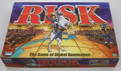 Strategy Board Game: Risk - The Game of Global Domination, Parker Brothers 1998