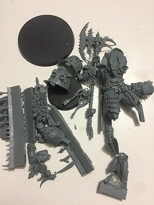 Warhammer Chaos Space Marines Daemons Army Resin Khorne Daemon Prince & Herald !