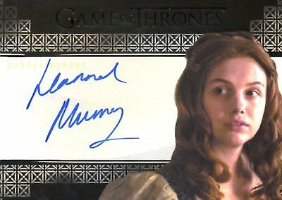 Game Of Thrones Valyrian Steel VALYRIAN AUTOGRAPH card HANNAH MURRAY as GILLY