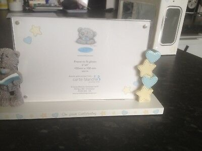 Christening Me To You Bear photo frame boxed
