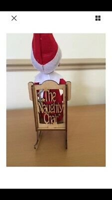 Elf Wooden Naughty Chair