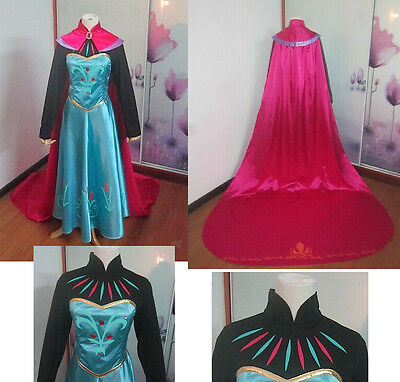 Frozen Vestito Carnevale Elsa Donna Dress up Elsa Woman Costume Cosplay 8899070