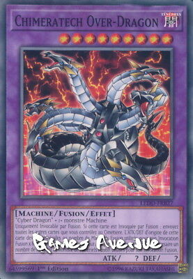 Yu-Gi-Oh ! Chimeratech Over-Dragon LEDD-FRB27 (LEDD-ENB27) VF/COMMUNE