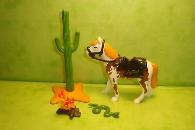 Playmobil: cheval avec selle playmobil / Horse with saddle