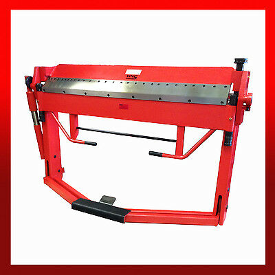 WNS Box and Pan Folder with Foot Operated Sheet Clamping 1520mm x 1.5mm Capacity