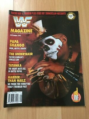WWF Magazine September 1992