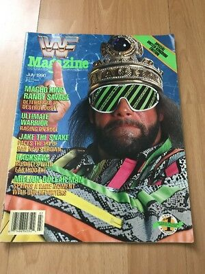 WWF Magazine July 1990