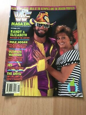 WWF Magazine October 1991