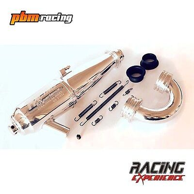 Racing Experience Hipex 1/8th Buggy Nitro In Line Pipe Set EFRA2034 NN.51034-021