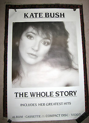 """Kate Bush - The Whole Story Poster Original, official and huge 40"""" x 60"""""""