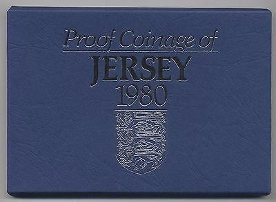 1980 Jersey Proof Coinage Set***Collectors***