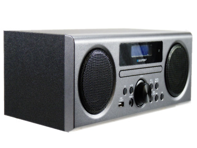 Blaupunkt BPHF-1R DAB Radio Stereo System Grey With Bluetooth USB Playback