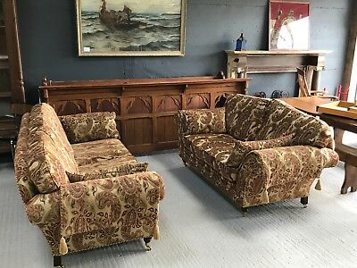 Stunning Pair 2 Antique Style Sofas 3 Seater & 2 Seater The Kedleston by Steed