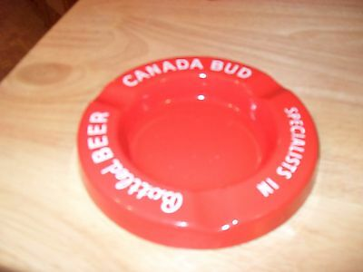 1940's Canada Bud Beer Porcelain Ash Tray