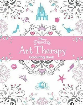 Disney Princess Art Therapy Colouring Book (Paperback) by Parragon Books
